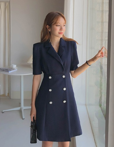 달리호텔 / Jade Flare Jacket Dress_H65566