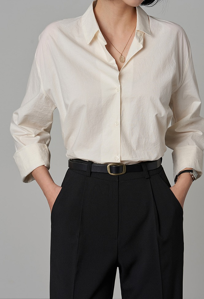 달리호텔 / Andrea Soft Cotton Shirt_H65894