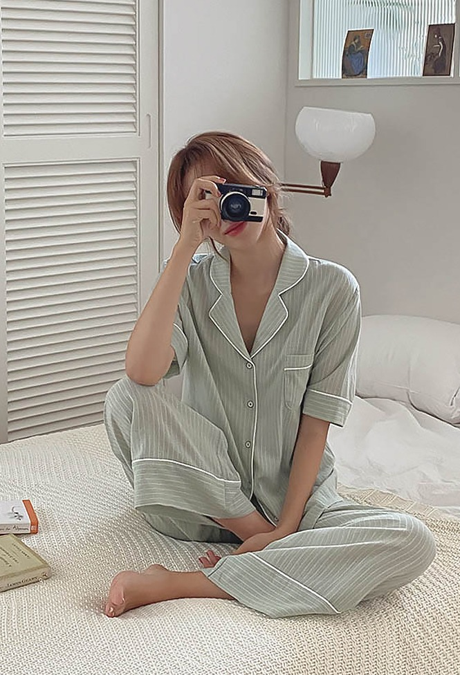 달리호텔 / Modern Striped Pajama_H65530