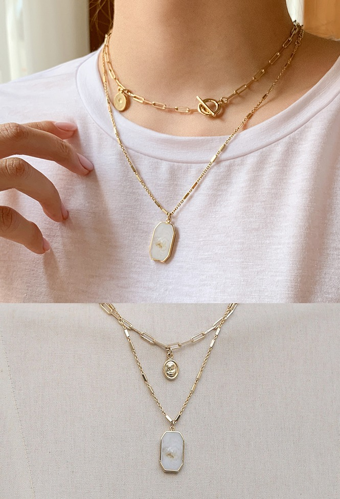 달리호텔 / Favorite Layering Necklace Set_H63379