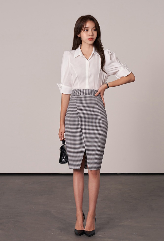 달리호텔 / Juno Slimfit Pencil Skirt_H65724