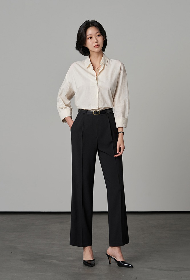달리호텔 / Antonia Semi Wide Slacks_H65891